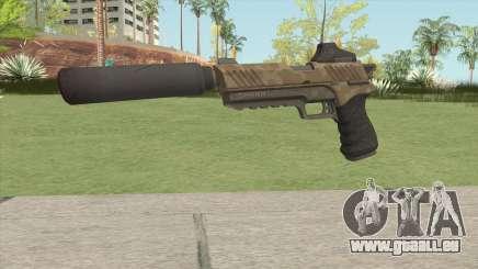 Silenced Pistol (Fortnite) HQ pour GTA San Andreas