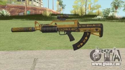 Bullpup Rifle (Three Upgrade V6) Main Tint GTA V für GTA San Andreas