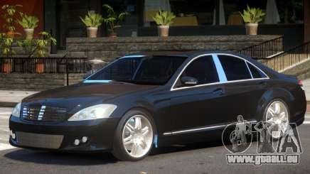 Mercedes W221 Brabus pour GTA 4