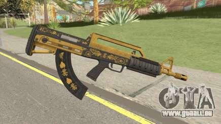 Bullpup Rifle (Base V2) Main Tint GTA V für GTA San Andreas