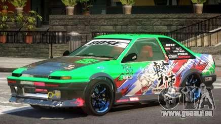 Toyota Corolla GT PJ pour GTA 4