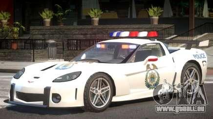 Chevrolet Corvette Police V1.1 pour GTA 4