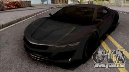 Acura NSX 2017 Lowpoly für GTA San Andreas