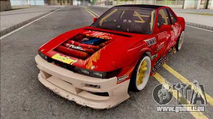 Nissan Silvia S13 1993 Drift by Hazzard Garage pour GTA San Andreas