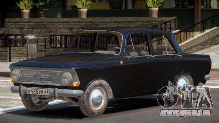 1968 Moskwitch 412 V1.0 pour GTA 4