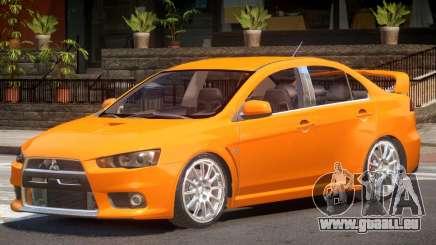 Mitsubishi Lancer X RS pour GTA 4