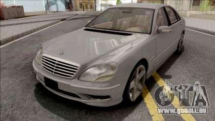 Mercedes-Benz W220 S55 AMG pour GTA San Andreas