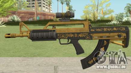 Bullpup Rifle (Scope V2) Main Tint GTA V für GTA San Andreas