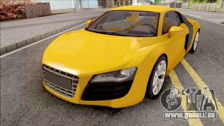 Audi R8 4.2 FSI Quattro VehFuncs pour GTA San Andreas
