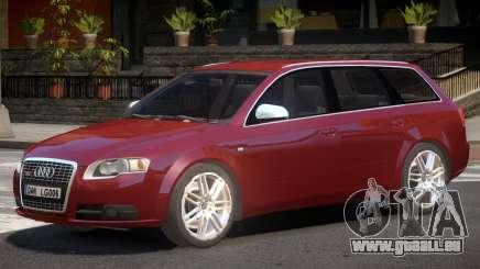 Audi S4 Avant V1.0 pour GTA 4