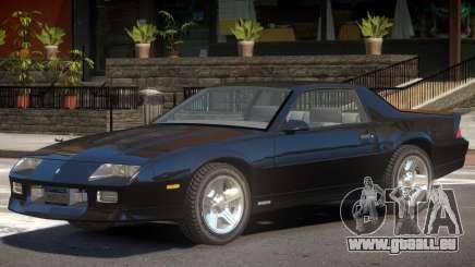 1990 Chevrolet Camaro V1.0 pour GTA 4