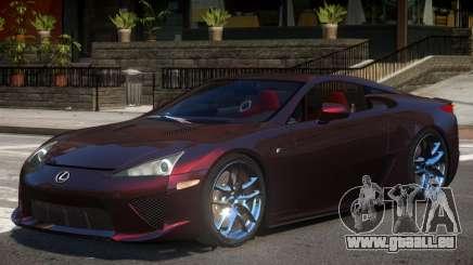 Lexus LFA V1.2 pour GTA 4