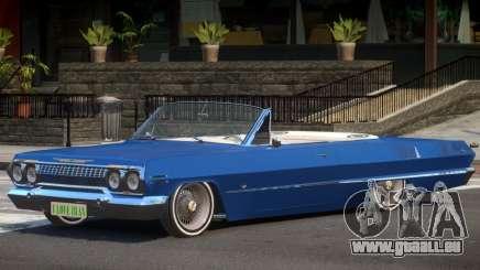 1963 Chevrolet Impala Cabrio für GTA 4