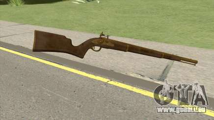 Edinburgh Musket (Gold) GTA V für GTA San Andreas