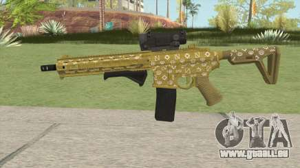 Carbine Rifle GTA V (ILL Cammo) für GTA San Andreas