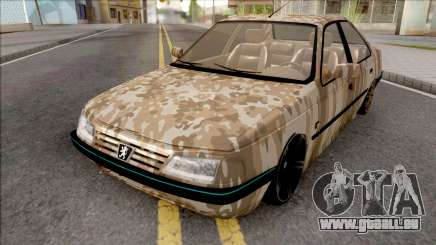 Peugeot 405 Army pour GTA San Andreas