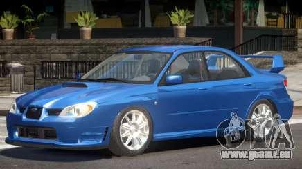 Subaru Impreza Spec C pour GTA 4