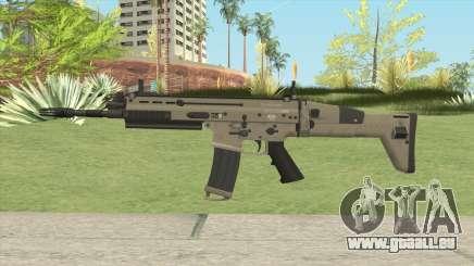 SCAR-L Assault Rifle pour GTA San Andreas