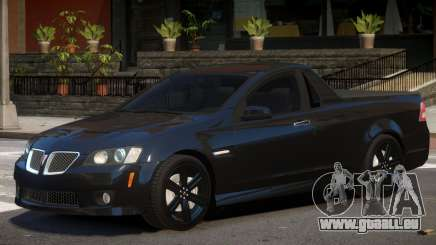Pontiac G8 Tuned für GTA 4