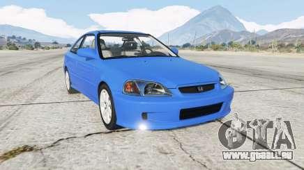 Honda Civic Si (EM1) 1999 pour GTA 5