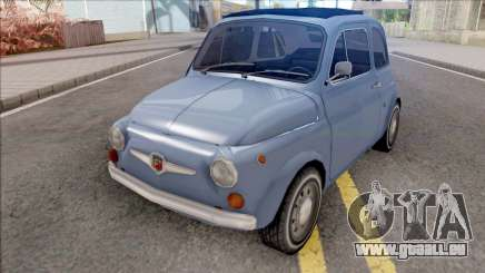 Fiat Abarth 595 SS 1968 Strip Wheels für GTA San Andreas