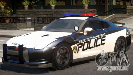 Nissan GTR Police pour GTA 4