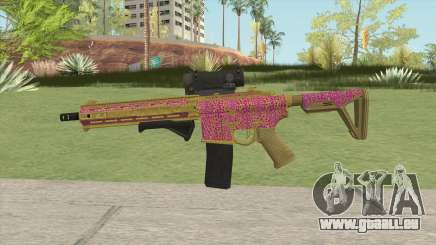 Carbine Rifle GTA V (Leopardo Rosa) für GTA San Andreas