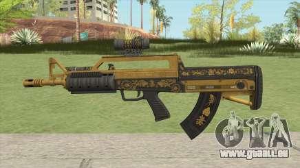 Bullpup Rifle (Two Upgrades V3) Main Tint GTA V für GTA San Andreas