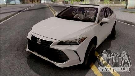 Toyota Avalon Hybrid 2020 White pour GTA San Andreas
