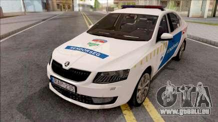 Skoda Octavia A7 Rendorseg für GTA San Andreas