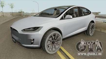 Tesla Model X (Low Poly) 2016 für GTA San Andreas