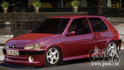 Peugeot 106 V1.0 pour GTA 4