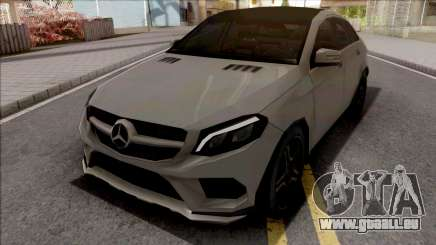 Mercedes-Benz GLE 350 Coupe Lowpoly für GTA San Andreas