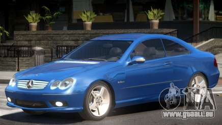 Mercedes CLK 63 Y5 pour GTA 4