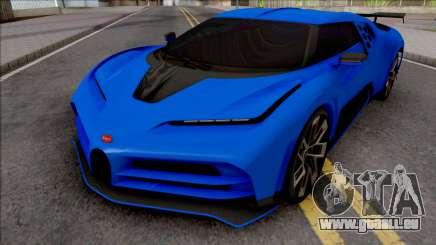 Bugatti Centodieci EB110 2020 Milestone für GTA San Andreas