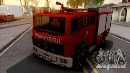 Mercedes-Benz 1222 LF 16-12 Pompierii pour GTA San Andreas