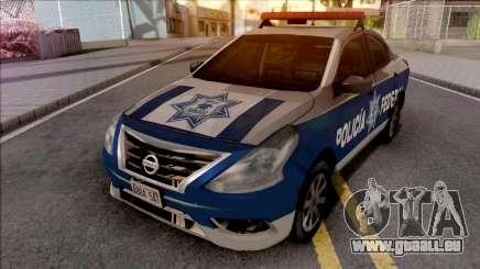 Nissan Versa 2019 Policia Federal Mexicana für GTA San Andreas
