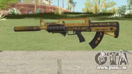 Bullpup Rifle (Three Upgrade V7) Main Tint GTA V für GTA San Andreas