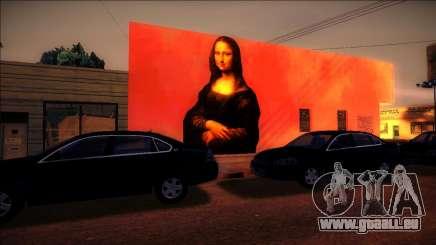 Wandbild Mona Lisa für GTA San Andreas