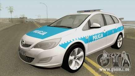 Opel Astra J (Policja KSP) pour GTA San Andreas