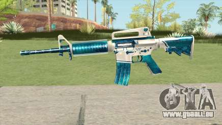 M4A1 (Winter Warrior) pour GTA San Andreas