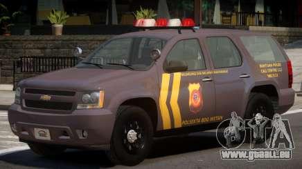 Chevrolet Tahoe Y12 Police pour GTA 4