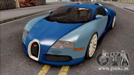 Bugatti Veyron Standart Interior für GTA San Andreas