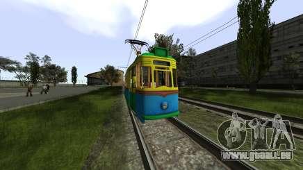 Gotha T57 Tram pour GTA San Andreas