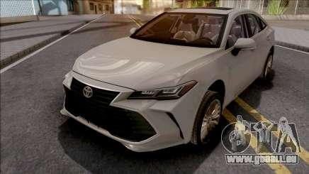 Toyota Avalon Hybrid 2019 für GTA San Andreas