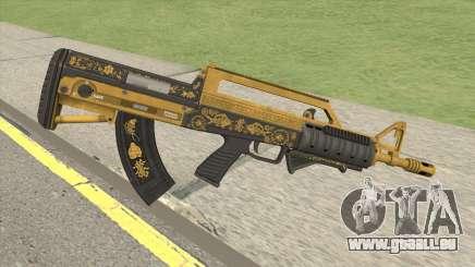 Bullpup Rifle (Grip V1) Main Tint GTA V für GTA San Andreas