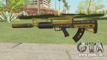 Bullpup Rifle (Suppressor V1) Main Tint GTA V für GTA San Andreas