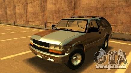 Chevrolet Blazer 2001 V1 für GTA San Andreas
