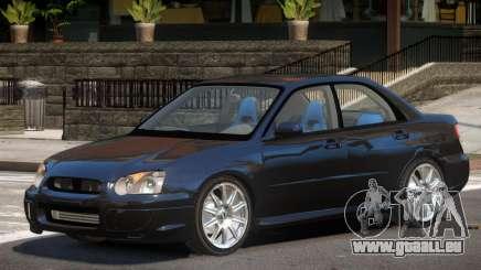 Subaru Impreza Old pour GTA 4