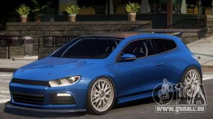 Volkswagen Scirocco Custom pour GTA 4